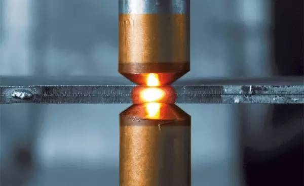 What is the resistance welding process